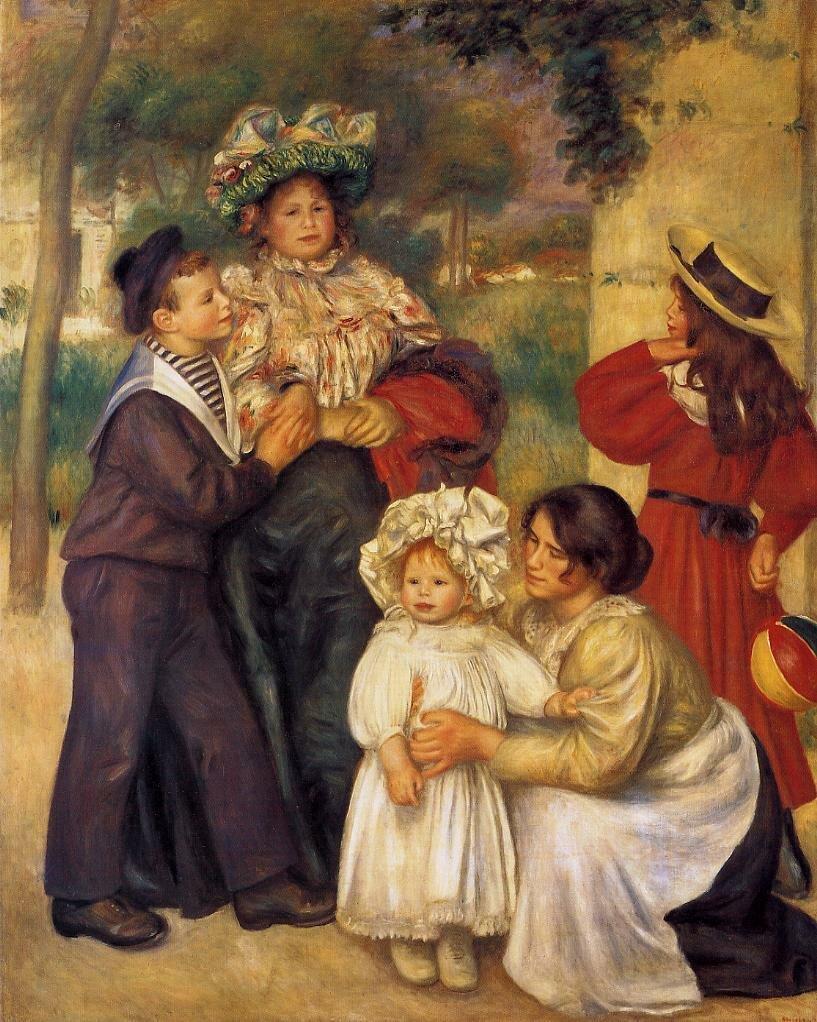 Пьер-Огюст РенуарСемья художника [1896]173 x 140 cm.фонд Барнса, Мерион.