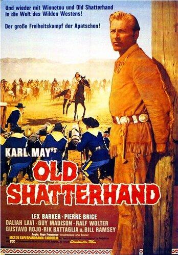 Виннету – вождь апачей / Old Shatterhand (1964) BDRip 720p