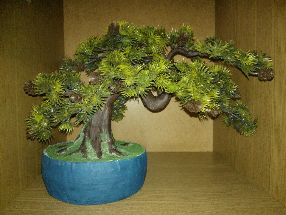 Дерево бонсай поделки 1