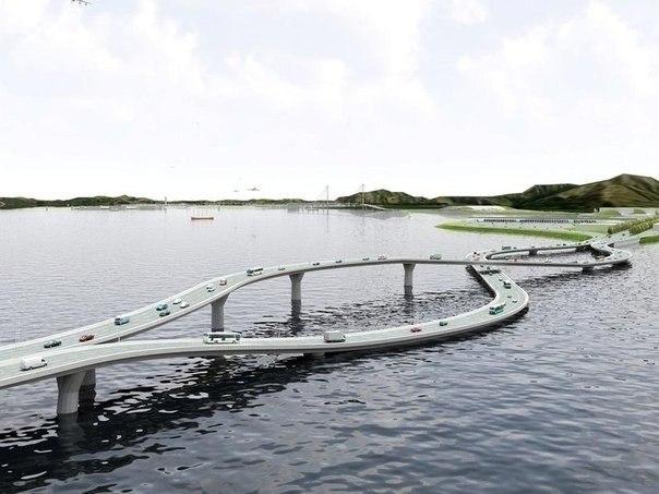 Зачем нужен такой мост?