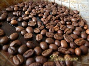 Зерна кофе обжарить
