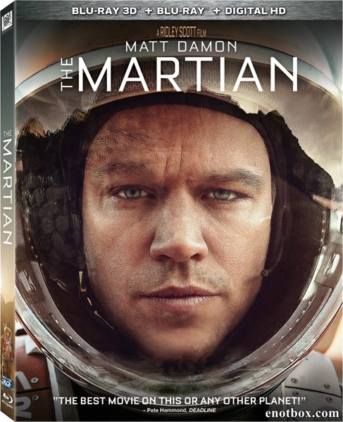 Марсианин / The Martian (2015/BD-Remux/BDRip/HDRip/3D) (6 ch)