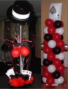 Украшение шарами казино всю | www admyralcasino com
