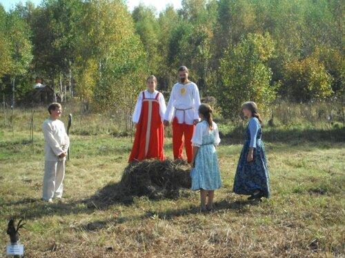 Венчание Фёдора и Кати Мараевых