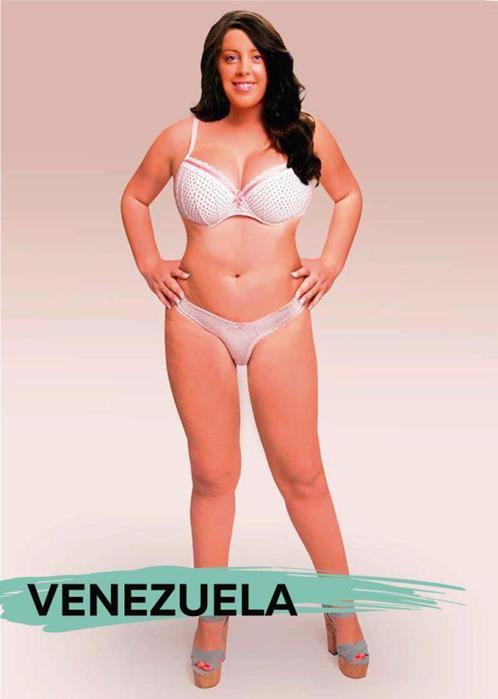 Идеальная женская фигура в 18 ти разных странах мира глазами художников