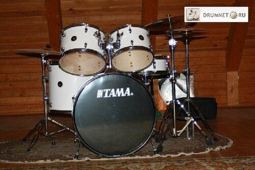 ударная установка из 5-ти барабанов + тарелки