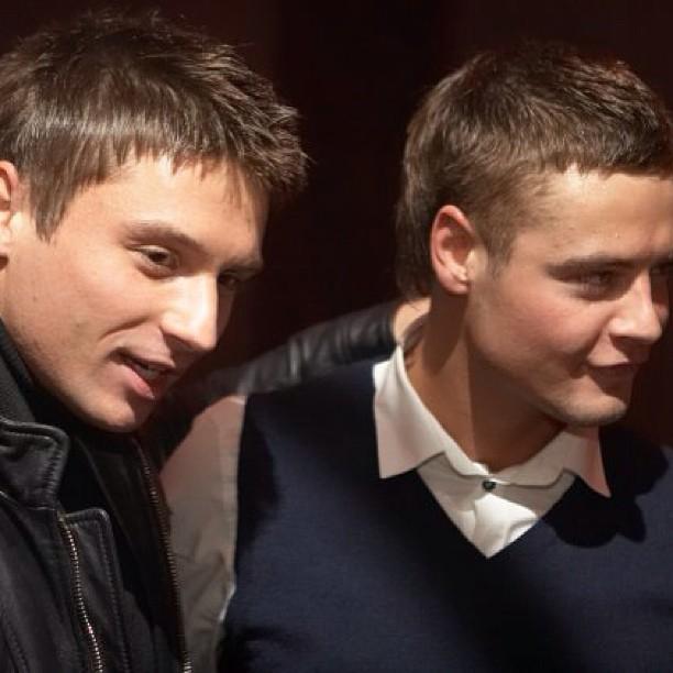 Сергей Лазарев и Иван Николаев