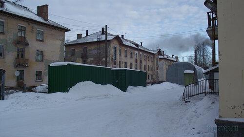 Фото города Инта №3271  Полярная 15, 13, 11 и 13а 03.02.2013_12:29