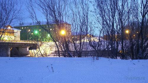 Фотография Инты №3297  Северная сторона Полярной 8 04.02.2013_16:41
