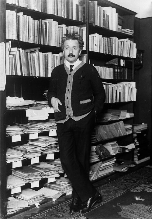 профессор Эйнштейн дома 1925