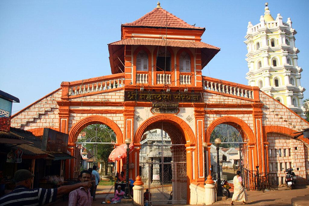Храм Sri Mahalasa ГОА, Индия