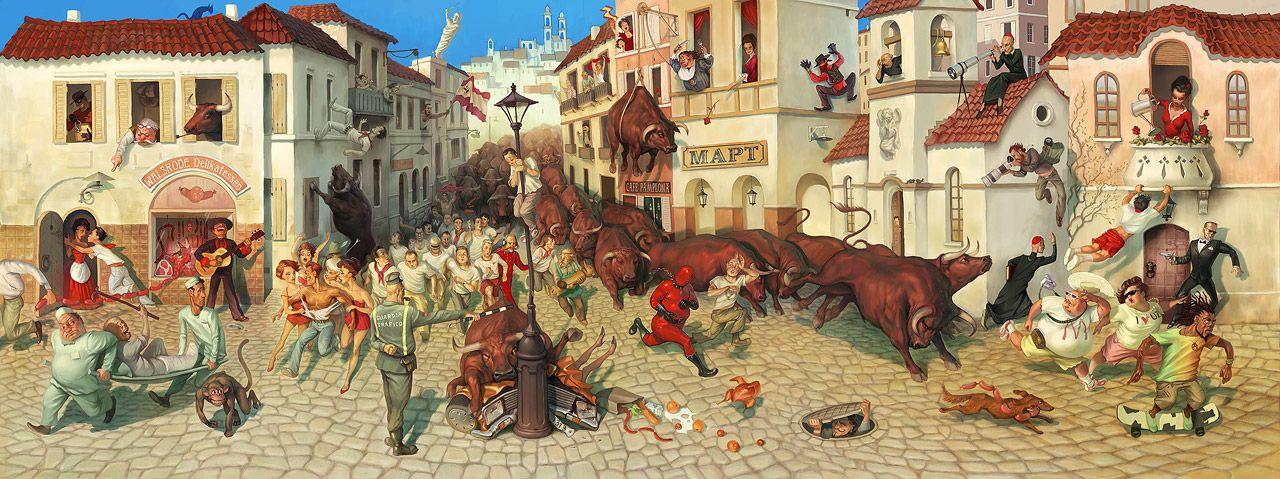 Русский цифровой арт от Waldemar Kazak