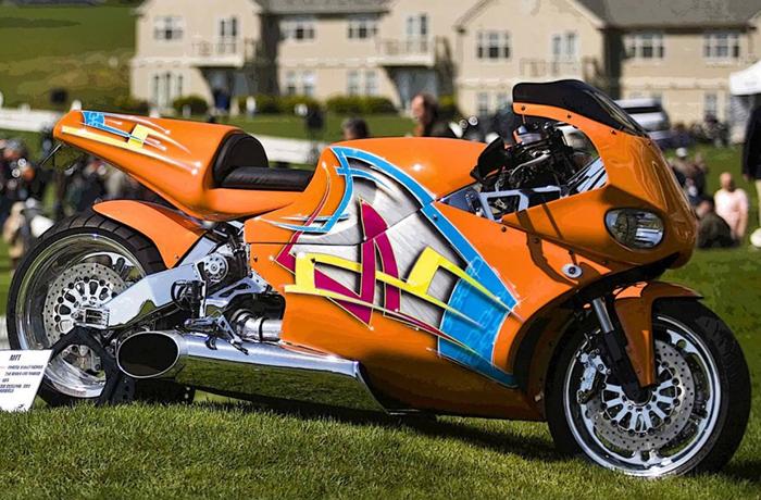 В 2000 году компания МТТ выпустила мотоцикл У2К с турбодвигателем 250-С18 от компании Rolls Royce Al