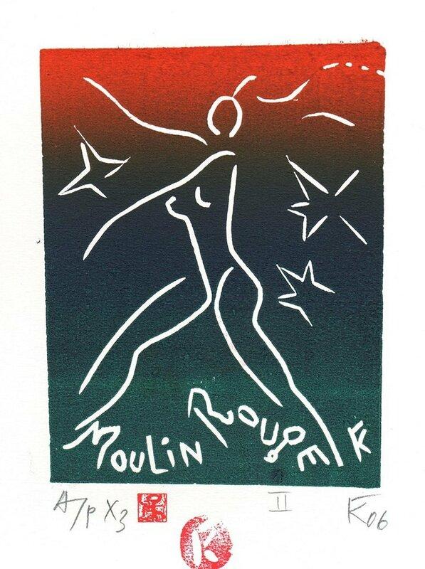 Серия Moulin Rouge. II