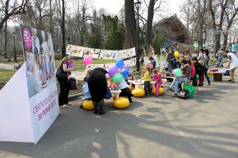 Конкурс детского рисунка в Мариинском парке