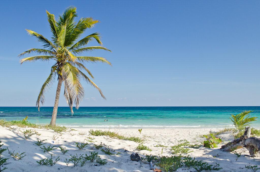 Фотография 3. Пляжный отдых в Мексике. Стоит ли ехать? Зачем толкаться в Канкуне с толпами народу, если можно одиноко релаксировать в Тулуме (Tulum)