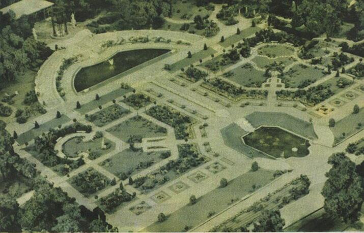Розарий Главного Ботанического сада. Таким он был!