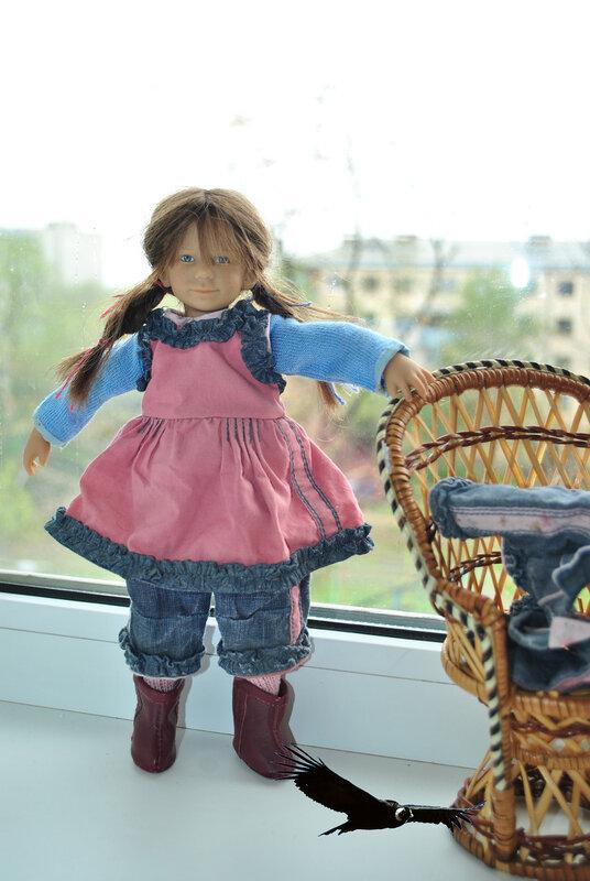 Пацан драл резиновую куклу и спалился
