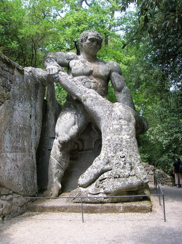Сад Сакро Боско. Италия
