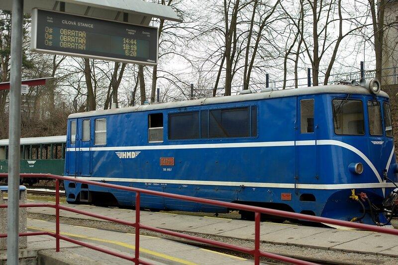 Jindřichohradecké místní dráhy (JHMD)