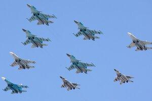 Тактическое крыло: Су-34, Су-27 и МиГ-29СМТ