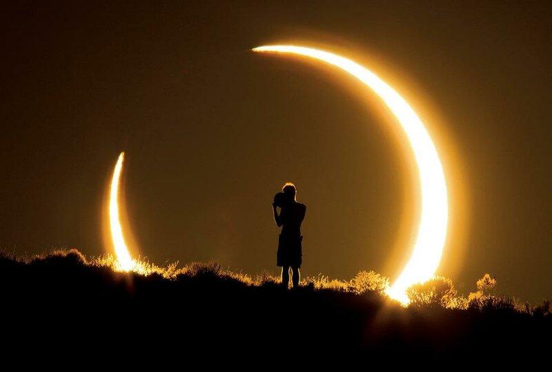Eclipse solar no Novo México