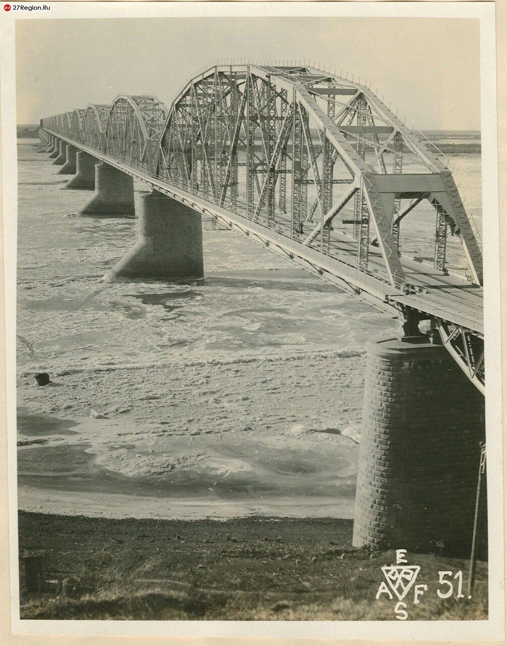 Старый мост через Амур