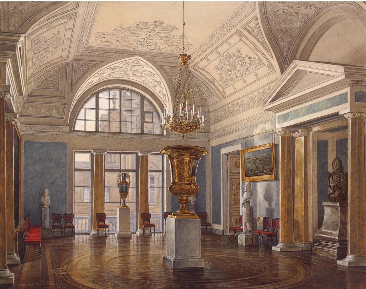 Интерьеры Зимнего дворца. Зал Аполлона