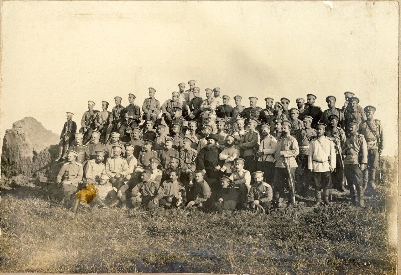220 Епифанский полк перед отправлением в Россию из Маньчжурии