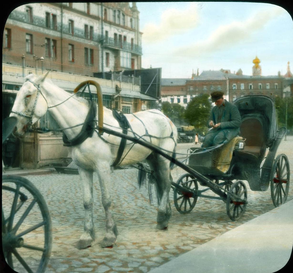 Москва. Уличная сцена