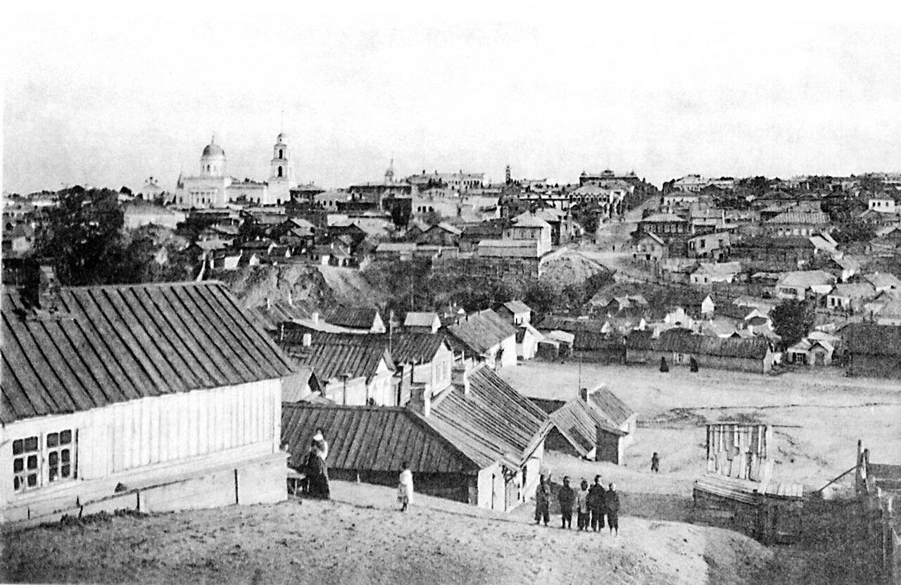 7. Видъ города отъ Глебучева оврага