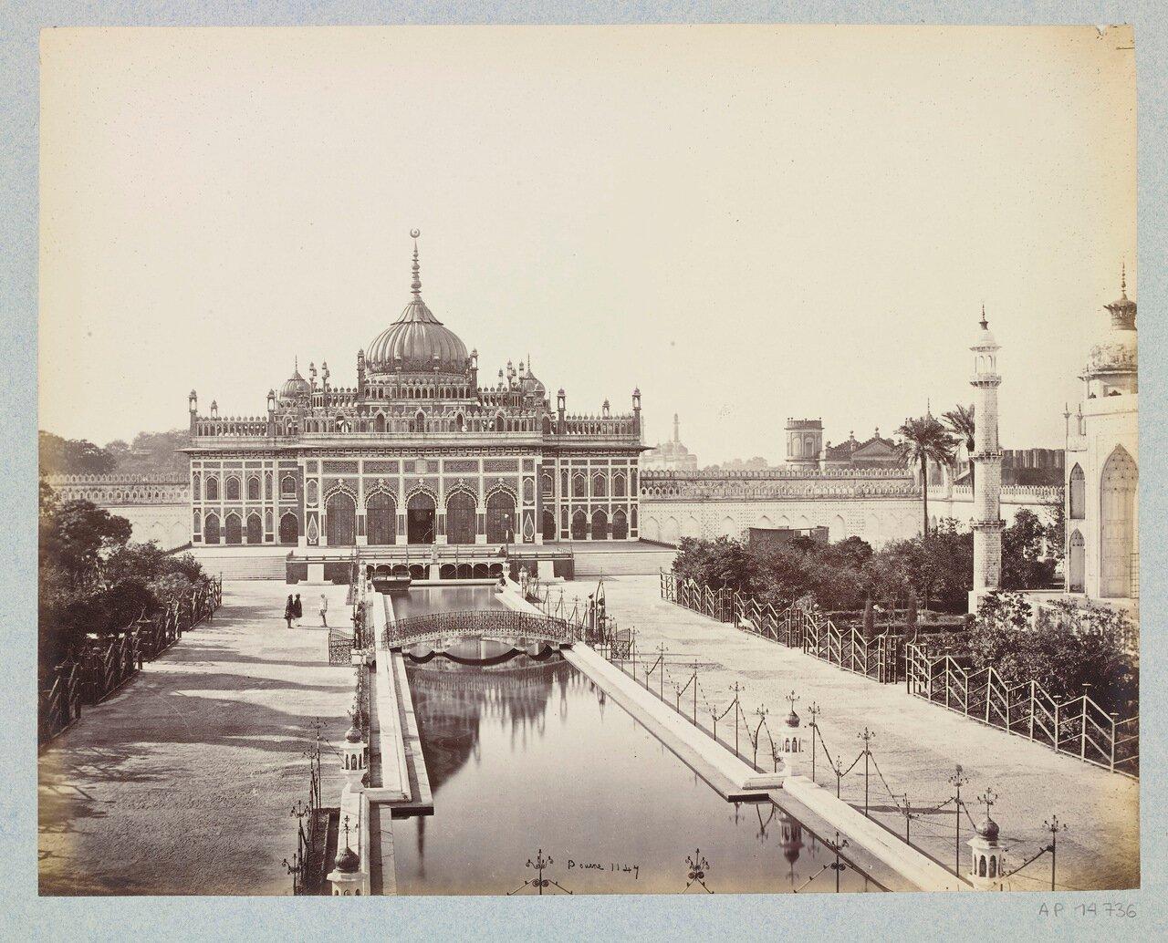 Район Хусейнобад в Имамбаре 1865 г.