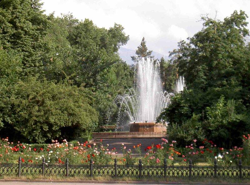 Мельников Сергей, Цветы и фонтаны
