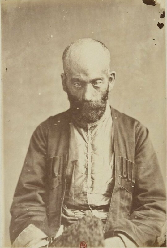 Portrait of a Persian from Tiflis, 1881. Photo by Ernest Chantre