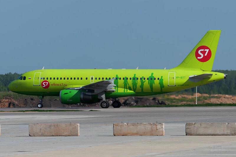 Airbus A319-114 (VP-BTT) S7 DSC0286