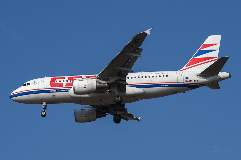 Airbus A319-112 (OK-MEK) CSA - Czech Airlines DSC6638
