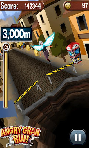 Angry Gran Run - Running Game (Android игры)