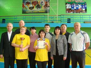 соревнования по волейболу Урмары