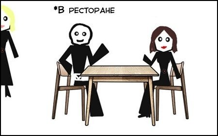 Комикс по старому анекдоту