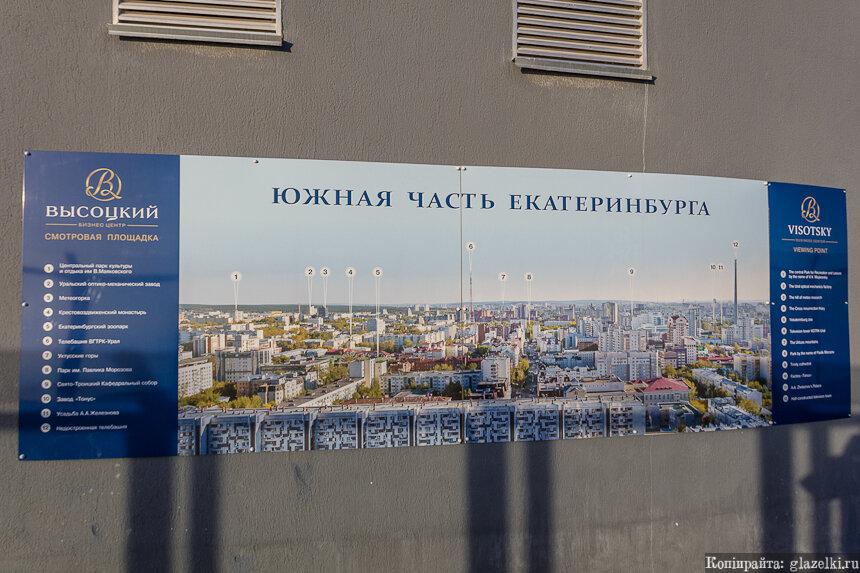 Смотровая площадка БЦ Высоцкий.