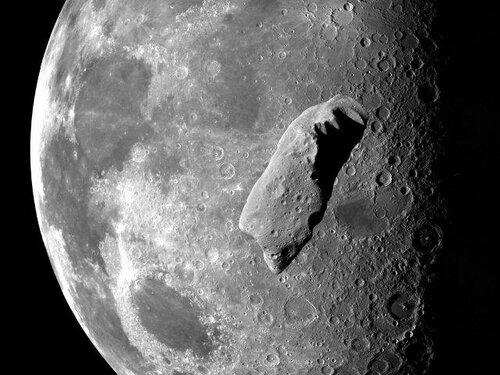 Управление NASA планирует перенаправить астероид на Лунную орбиту