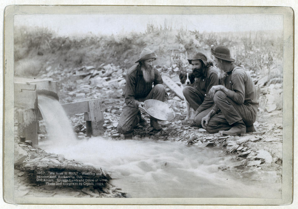 an analysis of the discovery of gold in california in 19th century