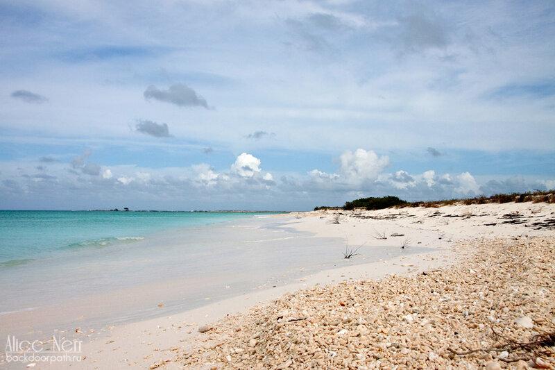 побережье острова Crasqui, los roques, лос рокес
