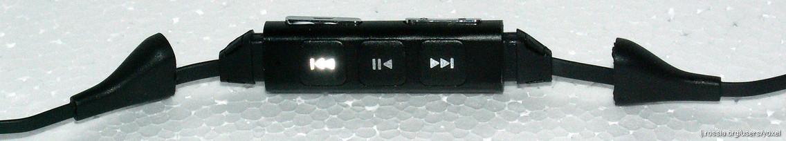 Пульт Nokia WH-701 — снимаем наконечники