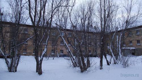 Фото города Инта №2815  Северная сторона Коммунистической 18 31.01.2013_13:29