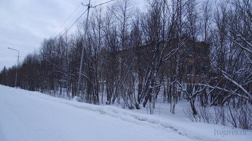 Фото города Инта №2853  Юго-восточный угол Коммунистической 22 31.01.2013_13:37