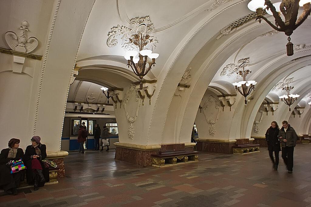 станция метро арбатская фото первое