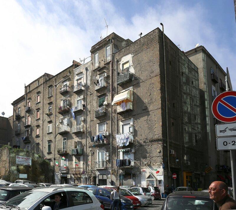 Naples. Via Nuova Marina)