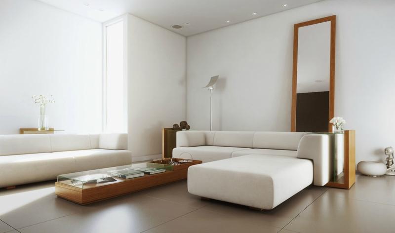 Белый цвет в интерьере гостиной, фото 11