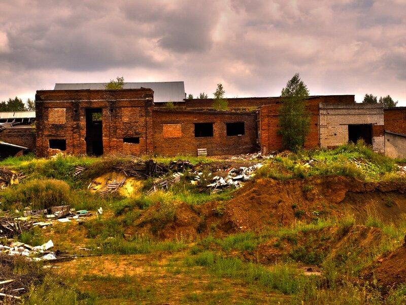 Развалины кирпичного завода